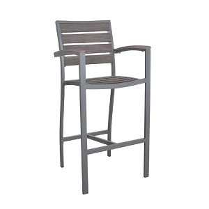 MRT402 - Martinique Barstool with Arms