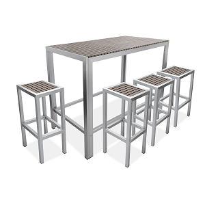 SIC306 - Sicilia Rectangular Bar Table
