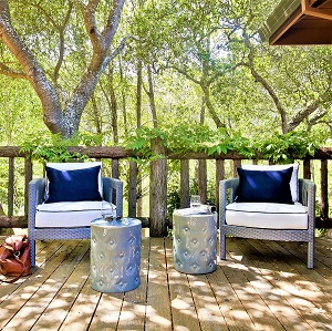 SOUTH BEACH RESIN WICKER DEEP SEATING COLLECTION - South Beach Wicker Deep Seating Collection