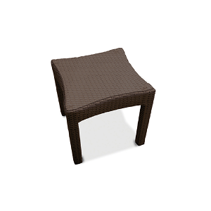 SBE501 - South Beach Wicker Side Table