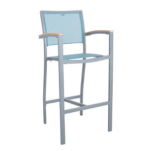 SLU402 - Saint Lucia Barstool with Arms