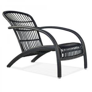 Adirondack Wicker Lounge Chair