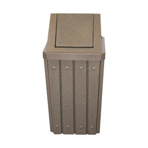 1 Signature 32 Gallon Receptacle w/ Swing Lid