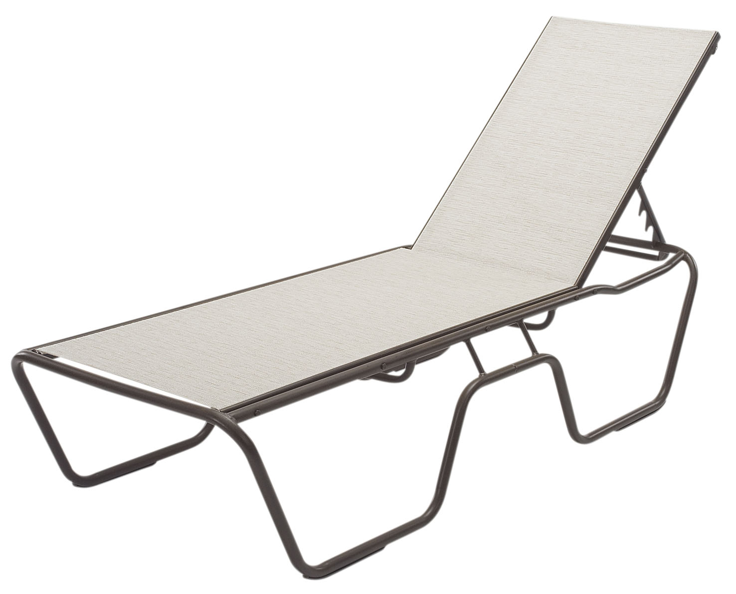 Seat Country Club Aluminum Sling Patio Chaise Lounge  Most Economical