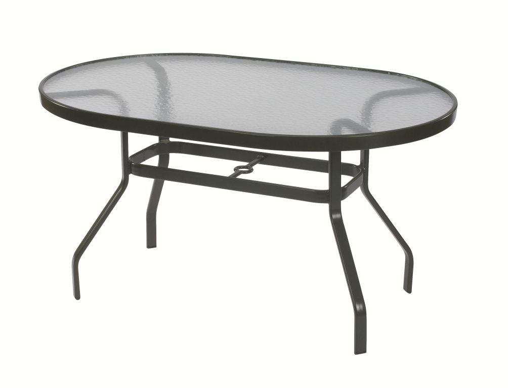 36 And 42 Inch Oval Dining Table Acrylic Et Amp T Distributors