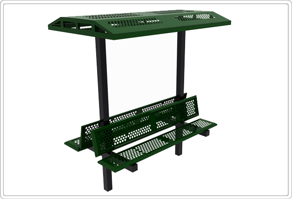 6 Double Bench With Shade Et Amp T Distributors