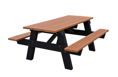 Beautiful A Frame Recycled Plastic Picnic Table. More Images