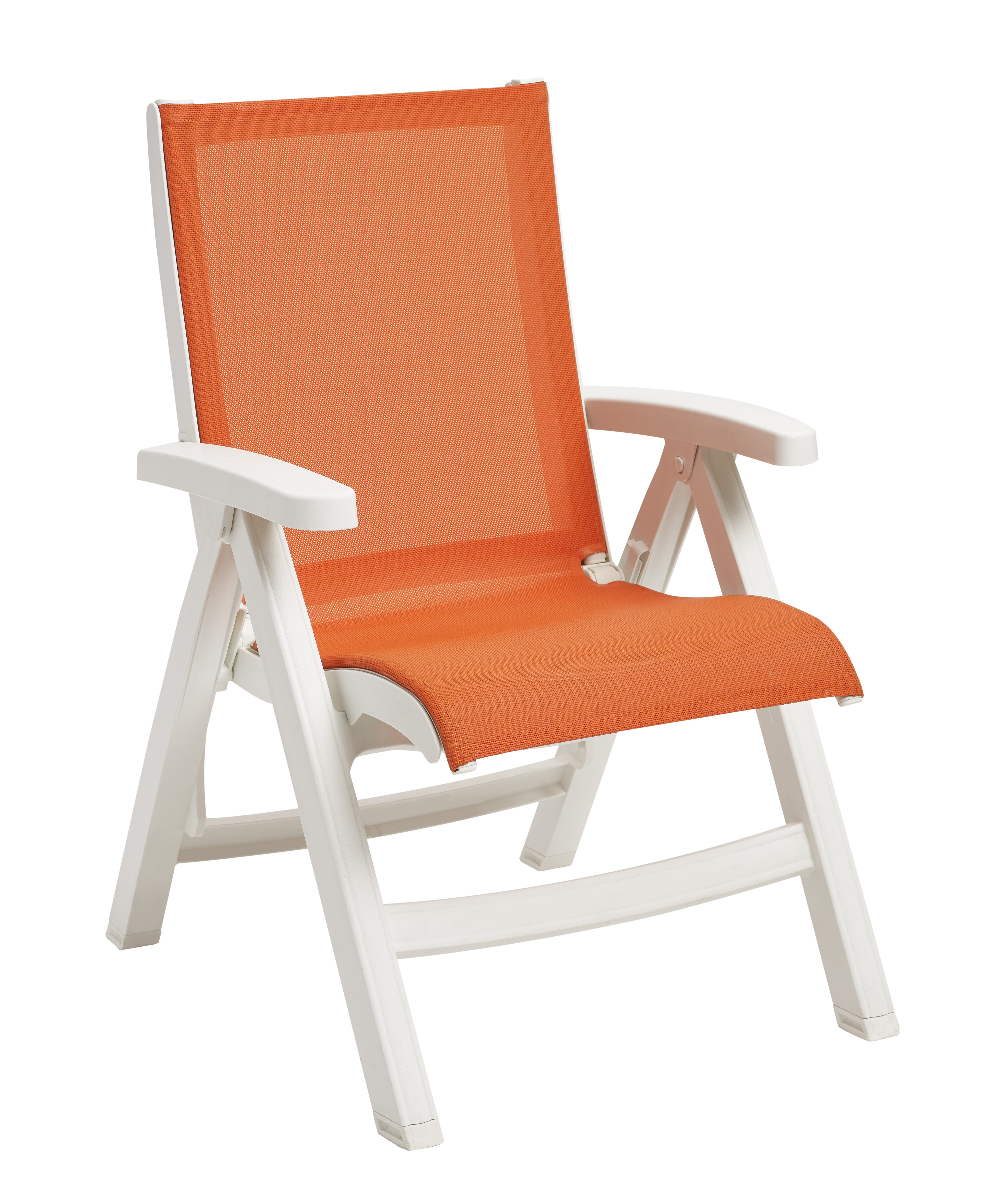 Belize Midback Folding Resin Patio Dining Chair