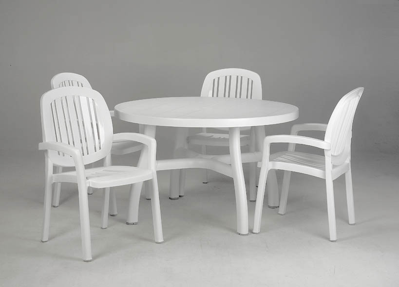 Nardi Ponza Resin Stackable Patio Dining Chair Et Amp T
