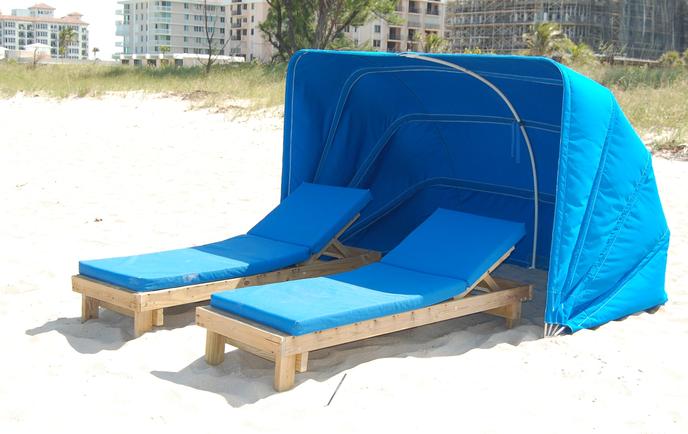 Full Size Beach Chaise Lounge Cabana Et Amp T Distributors