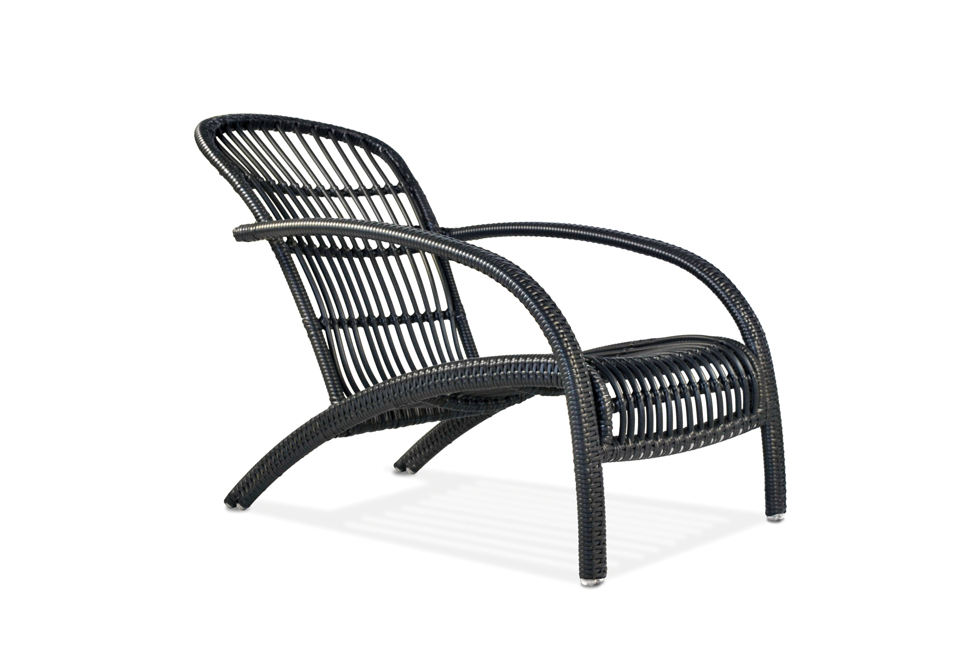 Adirondack Wicker Lounge Chair Available for Quickship – White Wicker Lounge Chair