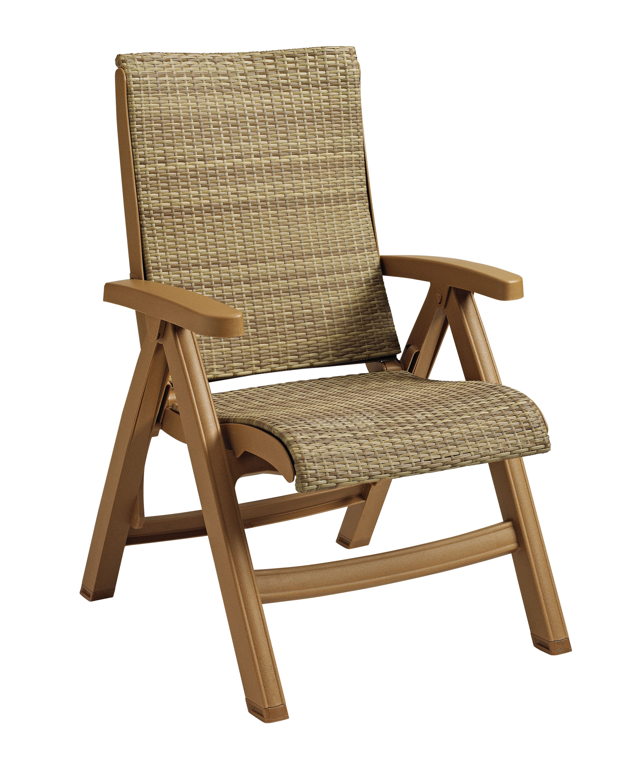 Java All Weather Wicker Resin Folding Chair Et Amp T