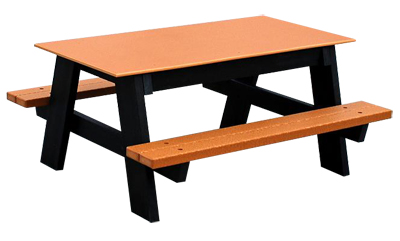 Kids A Frame Recycled Plastic Picnic Table. More Images