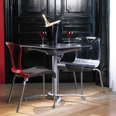 New Krystal Stacking Interior Chairs Et Amp T Distributors