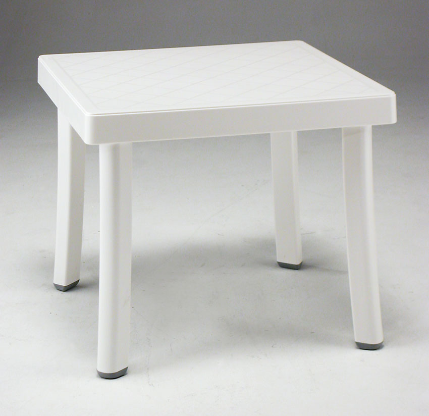 Resin Patio Side Table