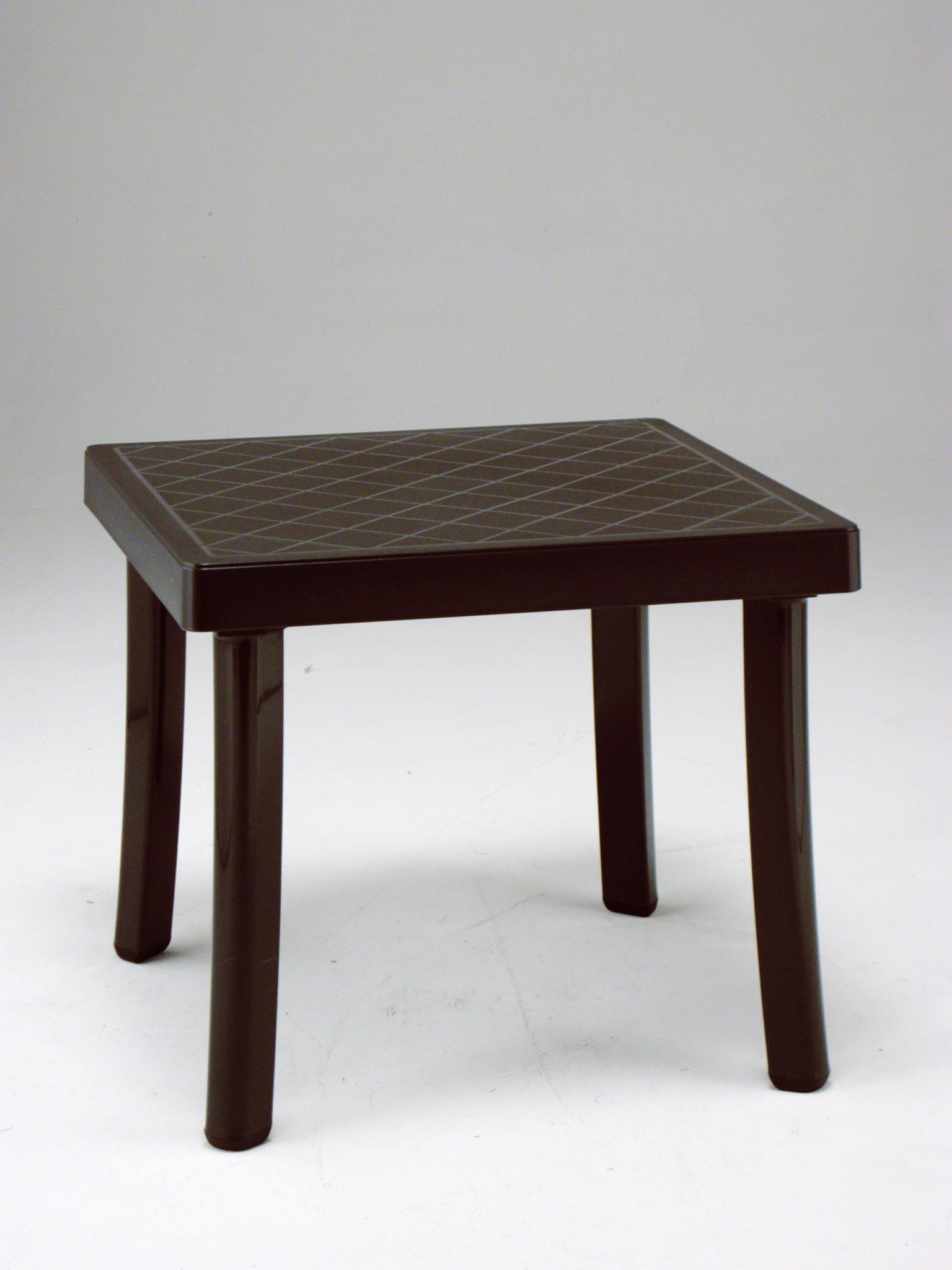 Nardi Rodi 18 In X 18 In Resin Patio Side Table Et Amp T