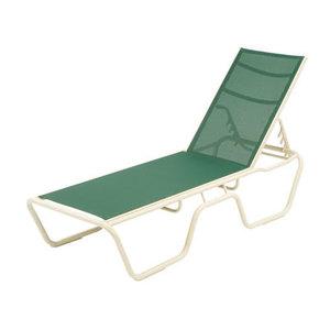 18 Neptune Aluminum Sling Chaise Lounge