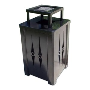 32 Gallon Steel Ashtop Receptacle