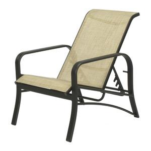 Montego Bay Aluminum Sling Recliner Chair Et Amp T Distributors