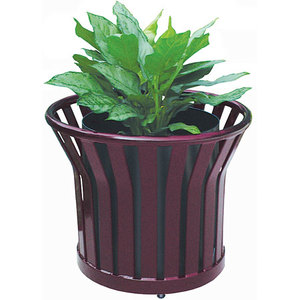 Metal Thermoplastic Planter