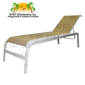 Anna Maria Armless Sling Chaise Lounge