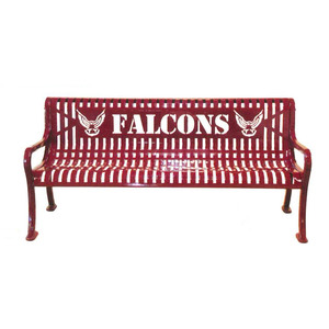 Signature Series Personalized Diamond Pattern Bench