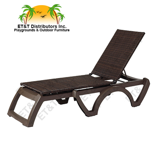 NEW Java Sling All Weather Wicker Chaise Lounge