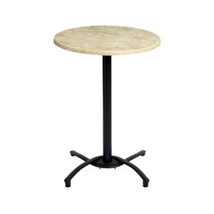 Grosfillex Boomerang Bar Height Table Base