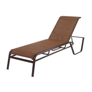 14 in. Seat Aluminum Monterey Sling Chaise Lounge