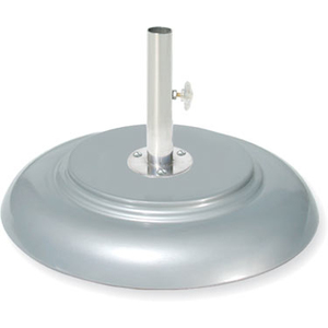 Tuuci Aluminum Finish Umbrella Base Available in 65, 95, 150, 200, and 250 pounds - COMMERCIAL USE ONLY