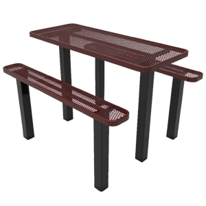 TRT06-A-10-000-MYT - Independent Pedestal Picnic Table