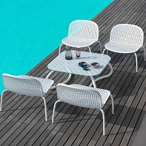 NIN-COMBO - Ninfea Outdoor Seating Collection
