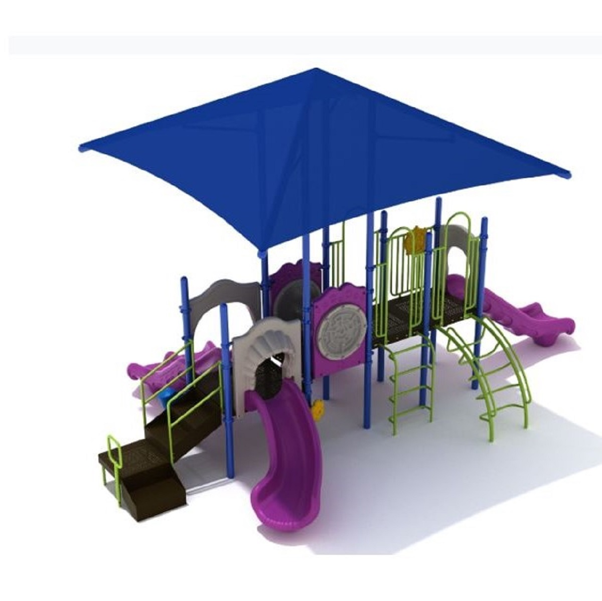 3 Barberton Playground with Integrated Shade