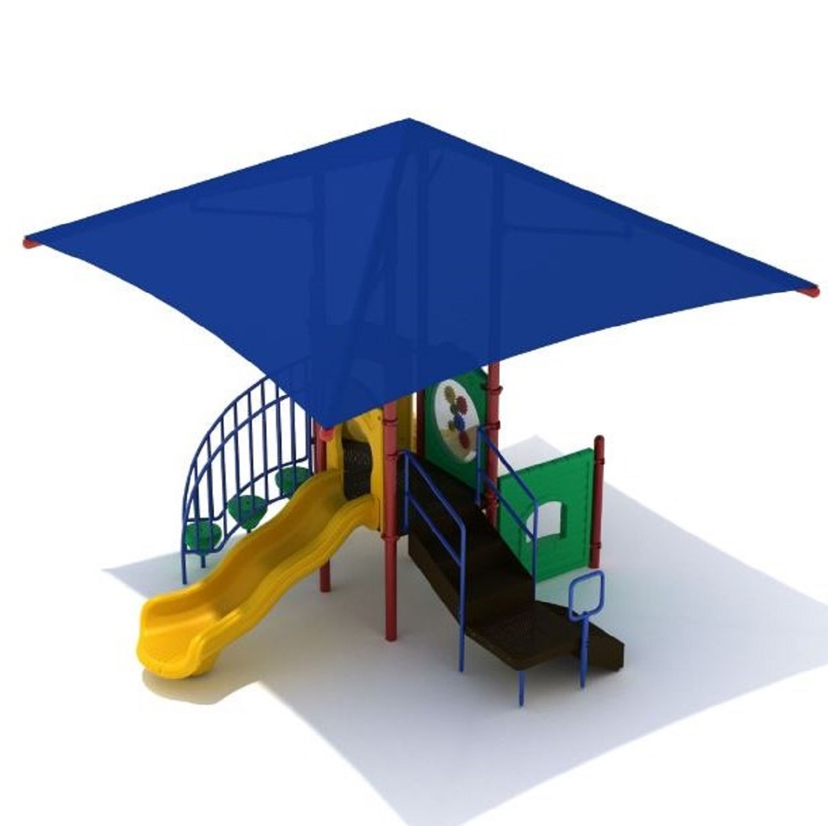 3 Palo Alto Playground with Integrated Shade