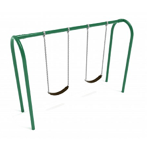 PSW005WSPB (PE) - 8' Elite Arch Post Swing- 1 Bay