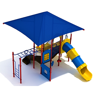 191206-GB-1-CR001 - 3 Tidewater Club Playground with Integrated Shade