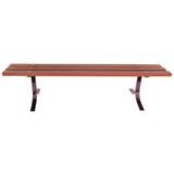 4000-6P-LC - 6 Foot Wooden Bench with out Back