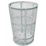 45GALV-LC - 45 Gallon Galvanized Receptacle