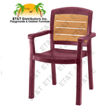 49453078 - Aquaba Classic Stacking Dining Armchair