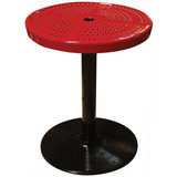 24TAB30 - 24 in. Peforated Pedestal Table