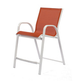 W5178BT - Windward Aluminum Seabreeze Sling Balcony Chair