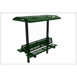 602-761 - e- 6' Double Bench with Shade