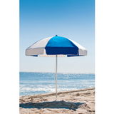 639AP-PBA - 6.5 Acrylic  or Vinyl Aluminum Beach Umbrella (No Tilt)
