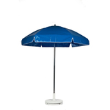 639AT-BLVA 639AT-BLV - Frankford 6'5 Vinyl Steel Lifeguard Umbrella Aluminum Center Pole