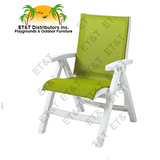CT352004 - Grosfillex Belize Midback Folding Resin Patio Dining Chair