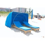 CB87-FF - Full Size Beach Chaise Lounge Cabana