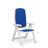 40.310.00.112 - Nardi Delta Resin Sling 5 Position Folding Patio Chair