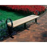 FP2205-BI - Hoop Recycled Plastic Bench without Back