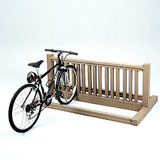 PBBIKECED - Recycled Plastic Lumber 6 Ft Bike Rack