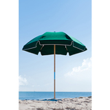 639W-FGA - 6.5 Acrylic or Vinyl Steel Beach Umbrella (No Tilt) Ashwood Center Pole
